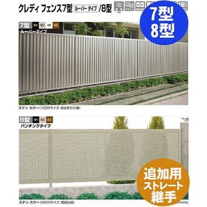 フェンス【四国化成】 クレディフェンス7型、8型(追加用ストレート継手2ヶ入)01FST- kenzai-yamasita