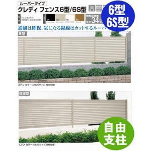 フェンス【四国化成】 クレディフェンス6型、6S型(自由支柱 コーナーカバー)60CC-06|kenzai-yamasita