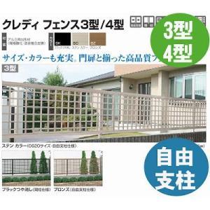 フェンス【四国化成】 クレディフェンス3型、4型(コーナー継手)60CJ-|kenzai-yamasita