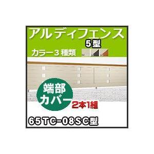 アルディフェンス5型端部カバー(2本1組)65TC-08SC H800mm 四国化成|kenzai-yamasita