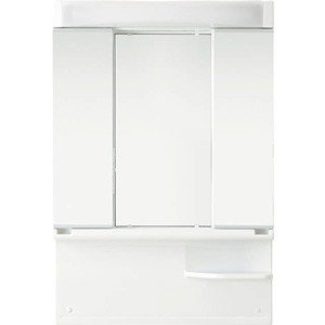 ノーリツ 洗面化粧台 LEM-753H/W シャンピーヌ ミラーキャビネット 3面鏡|kenzaijuusetsumarket