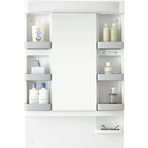 ノーリツ 洗面化粧台 LRCM-0756H/W シャンピーヌ ミラーキャビネット 収納1面鏡|kenzaijuusetsumarket