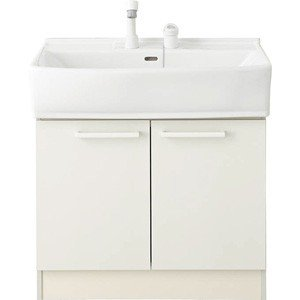 ノーリツ 洗面化粧台 シャンピーヌ ベースキャビネット LSAB-60DWN1B 2バルブ混合水栓 間口600mm 一般地用 LSAB-60D|kenzaijuusetsumarket