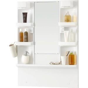 ノーリツ 洗面化粧台 シャンピーヌ  ミラーキャビネット LSAM-7VS 1面鏡 間口750mm|kenzaijuusetsumarket
