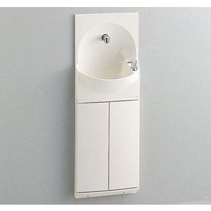 TOTO 手洗い器付きキャビネット 埋込式 YSC46SX #NW1 扉カラー:ホワイト ハンドル式水栓|kenzaijuusetsumarket