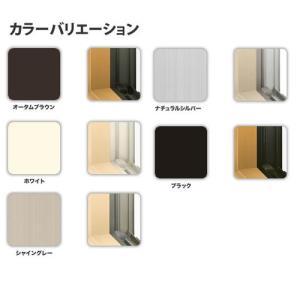 トステム アルミサッシ デュオSG シングルガラス 縦すべり出し窓 03607サッシ寸法W405×H770 kenzaistore 02