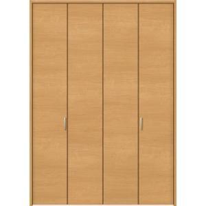 トステム ウッディーライン クローゼット折れ戸0723 ピボットタイプ ノンレール仕様  ドアデザイン:CFE(把手付き) ノンケーシング|kenzaistore