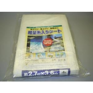 軽量糸入りシート 2.7X3.6|kenzaisyounin