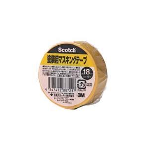 スリーエムジャパンマスキングテープ塗装用M40J-18 18X18|kenzaisyounin