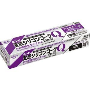 ボンド変性シリコンコークQ チューブ 120ML ホワイト #04952|kenzaisyounin