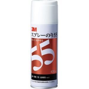 スリーエムジャパン スプレーのり55 再接着タイプ 430ML|kenzaisyounin