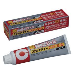 スーパーシール135ml ホワイト SX-001 |充填剤 充填材 diy 補修用品 補修工事 コーキング材 コーキング剤 シーリング剤 シーリング材|kenzaisyounin