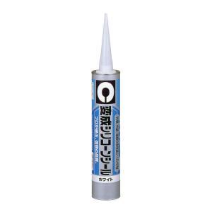 変成シリコンシール 333ml ホワイト |充填剤 充填材 diy 補修用品 補修工事 コーキング材 コーキング剤 シーリング剤 シーリング材 コーキ|kenzaisyounin