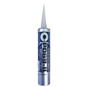 セメダイン POSシール 333ML ライトグレー SM-660 |充填剤 充填材 diy 補修用品 補修工事 コーキング材 コーキング剤 シーリング|kenzaisyounin