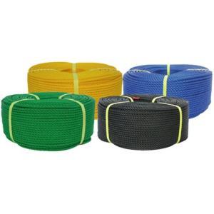 ユタカメイクPEロープ巻物グリーン6mmx200m PE-103|梱包材 ロープ 梱包資材 ユタカ 梱包用品 軽量 耐水性 農業 漁業 インテリア 耐|kenzaisyounin