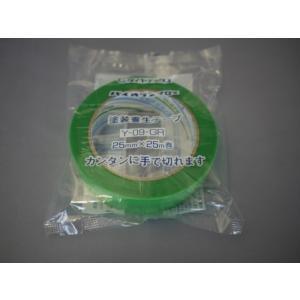 パイオラン塗装養生テープ 25mmX25M Y−09GR|kenzaisyounin