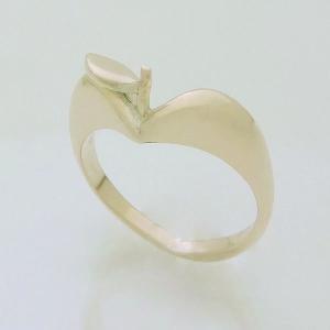"""りんごの指輪""""ピンクシルバー"""" kenzihouse"""