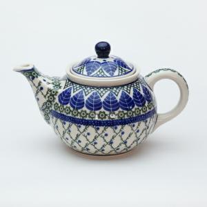 ティーポット・大[C264-854]【ポーリッシュポタリー[ポーランド食器・陶器]】|kersen