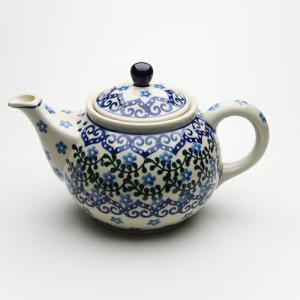 ティーポット・大[C264-935]【ポーリッシュポタリー[ポーランド食器・陶器]】|kersen