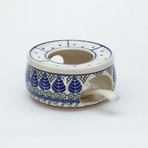 ポットウォーマー・大[C374-854]【ポーリッシュポタリー[ポーランド食器・陶器]】|kersen