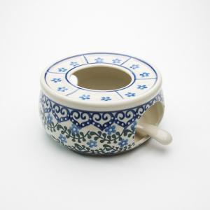 ポットウォーマー・大[C374-935]【ポーリッシュポタリー[ポーランド食器・陶器]】|kersen