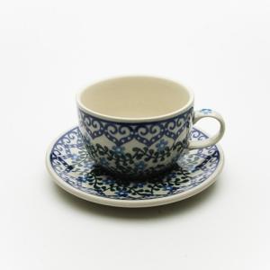 カップ&ソーサー[C768-935]【ポーリッシュポタリー[ポーランド食器・陶器]】|kersen