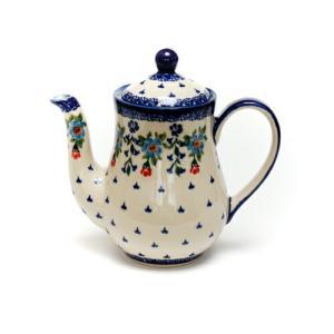 ポット0.7L[K106-DP183]【ポーリッシュポタリー[ポーランド食器・陶器]】|kersen