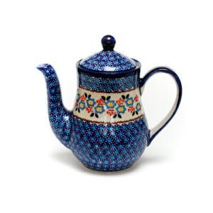 ポット0.7L[K106-DU252]【ポーリッシュポタリー[ポーランド食器・陶器]】|kersen