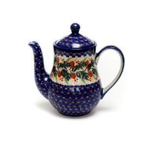 ポット0.7L[K106-DU446]【ポーリッシュポタリー[ポーランド食器・陶器]】|kersen