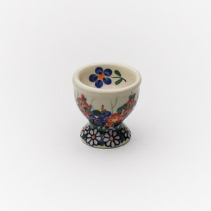 エッグカップ[V038-A001]【ポーリッシュポタリー[ポーランド食器・陶器]】|kersen