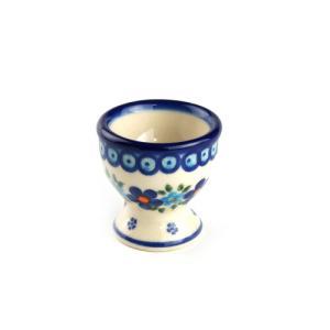 エッグカップ[V038-B203]【ポーリッシュポタリー[ポーランド食器・陶器]】|kersen