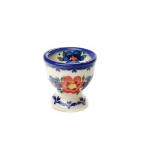 エッグカップ[V038-U072]【ポーリッシュポタリー[ポーランド食器・陶器]】|kersen