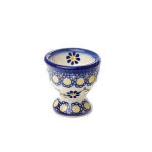 エッグカップ[V038-U113]【ポーリッシュポタリー[ポーランド食器・陶器]】|kersen
