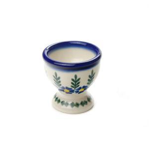 エッグカップ[V038-U198]【ポーリッシュポタリー[ポーランド食器・陶器]】|kersen
