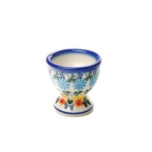 エッグカップ[V038-U710]【ポーリッシュポタリー[ポーランド食器・陶器]】|kersen