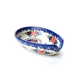 スプーンレスト[V089-A063]【ポーリッシュポタリー[ポーランド食器・陶器]】|kersen