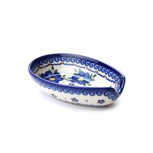 スプーンレスト[V089-U019]【ポーリッシュポタリー[ポーランド食器・陶器]】|kersen