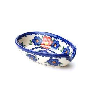 スプーンレスト[V089-U072]【ポーリッシュポタリー[ポーランド食器・陶器]】|kersen