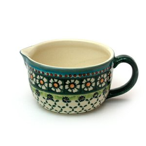 ミルクポット0.7L[W527-25A]【ポーリッシュポタリー[ポーランド食器・陶器]】|kersen