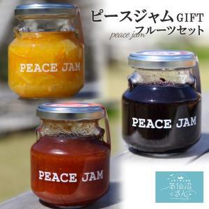ピースジャムGIFT フルーツセット【PEACE JAM】(3個入)気仙沼 ジャム ブルーベリー アップル オレンジ|kesennuma-san