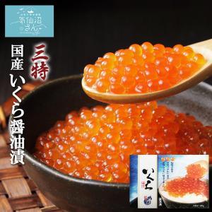 3特・国産いくら醤油漬 (500g) 気仙沼さん 最高級グレード 秘伝のタレ 寿司ネタ お祝い お取り寄せギフト 贈答 お歳暮|kesennuma-san