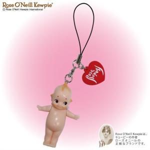 ローズオニールキューピー人形 マスコット ストラップ|kewpie