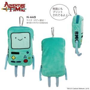 アドベンチャータイム ぬいぐるみモバイルケース ビーモ BMO Adventure Time|kewpie