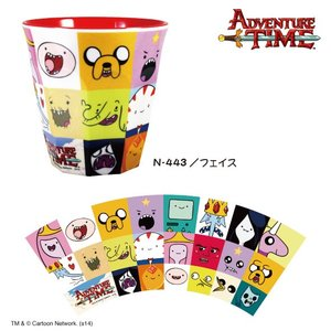 アドベンチャータイム メラミンコップ フェイス柄 Adventure Time|kewpie