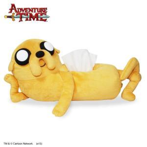 アドベンチャータイム ぬいぐるみティッシュカバー ジェイク Adventure Time|kewpie