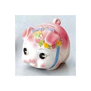 豚の貯金箱 ピギーバンク ブタバンク 小 ピンク Piggy Bank|kewpie