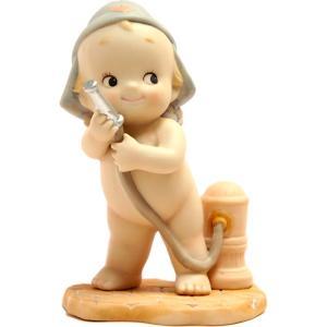 ローズオニールキューピー人形 ワーキングキューピー ファイヤーマン|kewpie