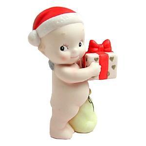 ローズオニールキューピー人形 マンスリーキューピー12月 ハッピークリスマス サンタクロース|kewpie