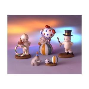 ローズオニールキューピー人形 ジオラマフィギュアセット キューピーとサーカスの巻|kewpie