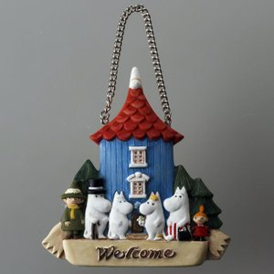 ムーミン ウェルカムボード ムーミン屋敷 Moomin|kewpie